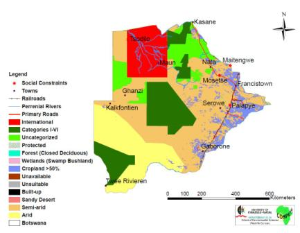Zambia Land Use Map on the jungle in africa on map, africa climate map, atlas mountains africa physical map,